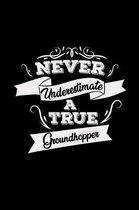 Never underestimate a true groundhopper
