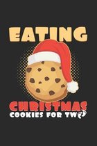 Eating christmas cookies: 6x9 Twins - grid - squared paper - notebook - notes