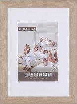 Fotolijst  Wissellijst hout - HONING - 25mm - 60x80cm