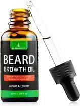 LB Products™ Baardgroei Olie - Baardolie - Baard groei middel - Baardhaar - Baardgroei stimuleren - Versnellen 30 ml