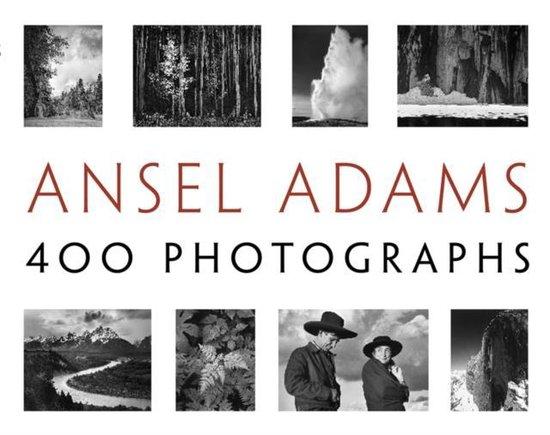 Boek cover Ansel Adams: 400 Photographs van Ansel Adams (Paperback)