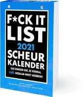 Scheurkalender - 2021 - F*ck it