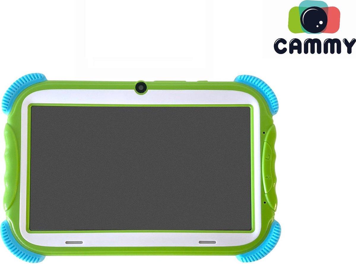 Cammy Kids Tablet Play – Kindertablet – 7 inch scherm – Quad Core Processor – 2GB werkgeheugen – 16GB – Groen – Inclusief 16GB High-Speed MicroSD + Gratis Powerbank