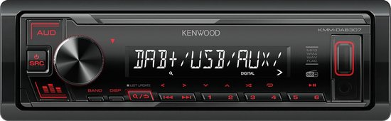 Kenwood KMM-DAB307 - Autoradio met DAB+
