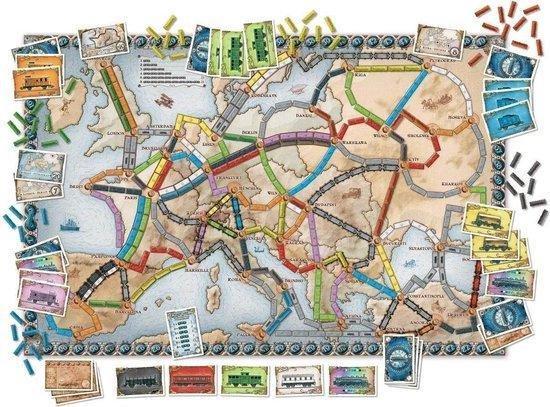Ticket to Ride Europe - Bordspel - Days of Wonder