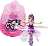 Hatchimals Pixies, Crystal Flyers magische vliegende paarse Pixie, voor kinderen vanaf 6 jr.