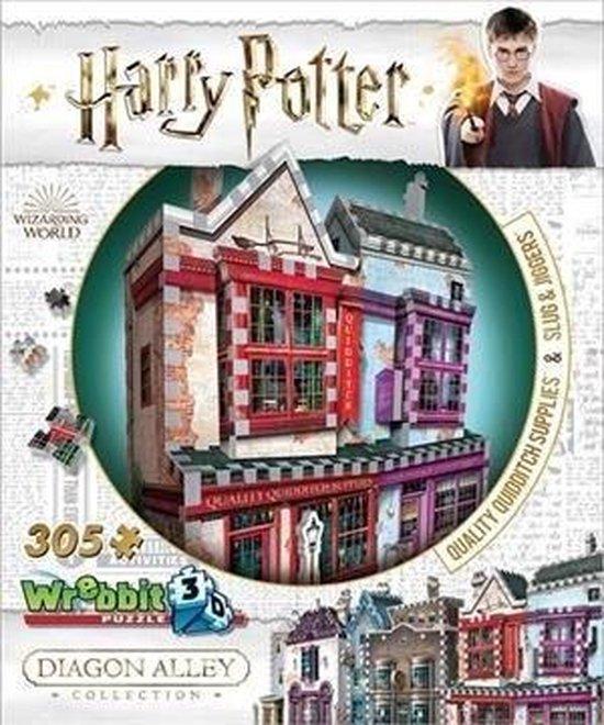 Wrebbit 3D Puzzle - Harry Potter Quality Quidditch Supplies & Slug & Jiggers (305) - wrebbit