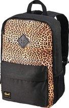 CabinMax Rugtas - Schooltas Meisje | Jongen - Rugzak - Schooltassen A4 formaat - Lichtgewicht - Leopard