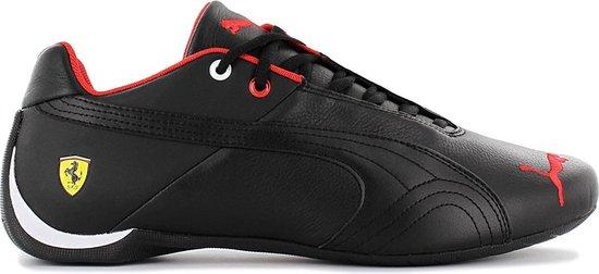 Puma Scuderia Ferrari - Future Cat Leather SF -  Heren Sneakers Casual Sport Schoenen Zwart 305735-02 - Maat EU 41.5 UK 7.5