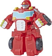 Transformers Rescue Bots - Heatwave The Fire-bot Rood 14 Cm