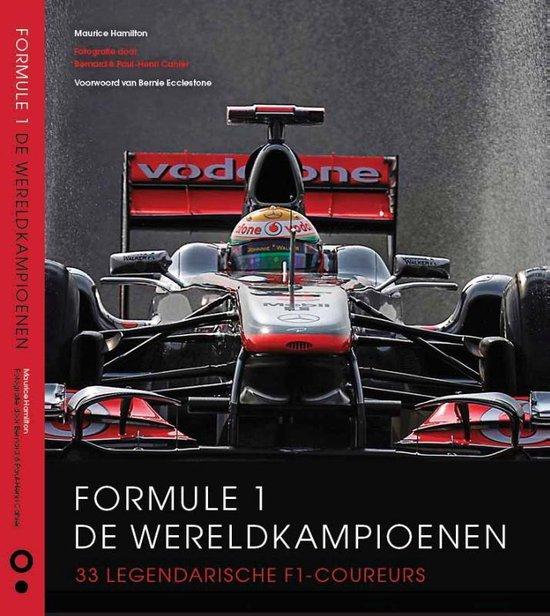 Boek cover Formule 1: De wereldkampioenen van Maurice Hamilton (Hardcover)