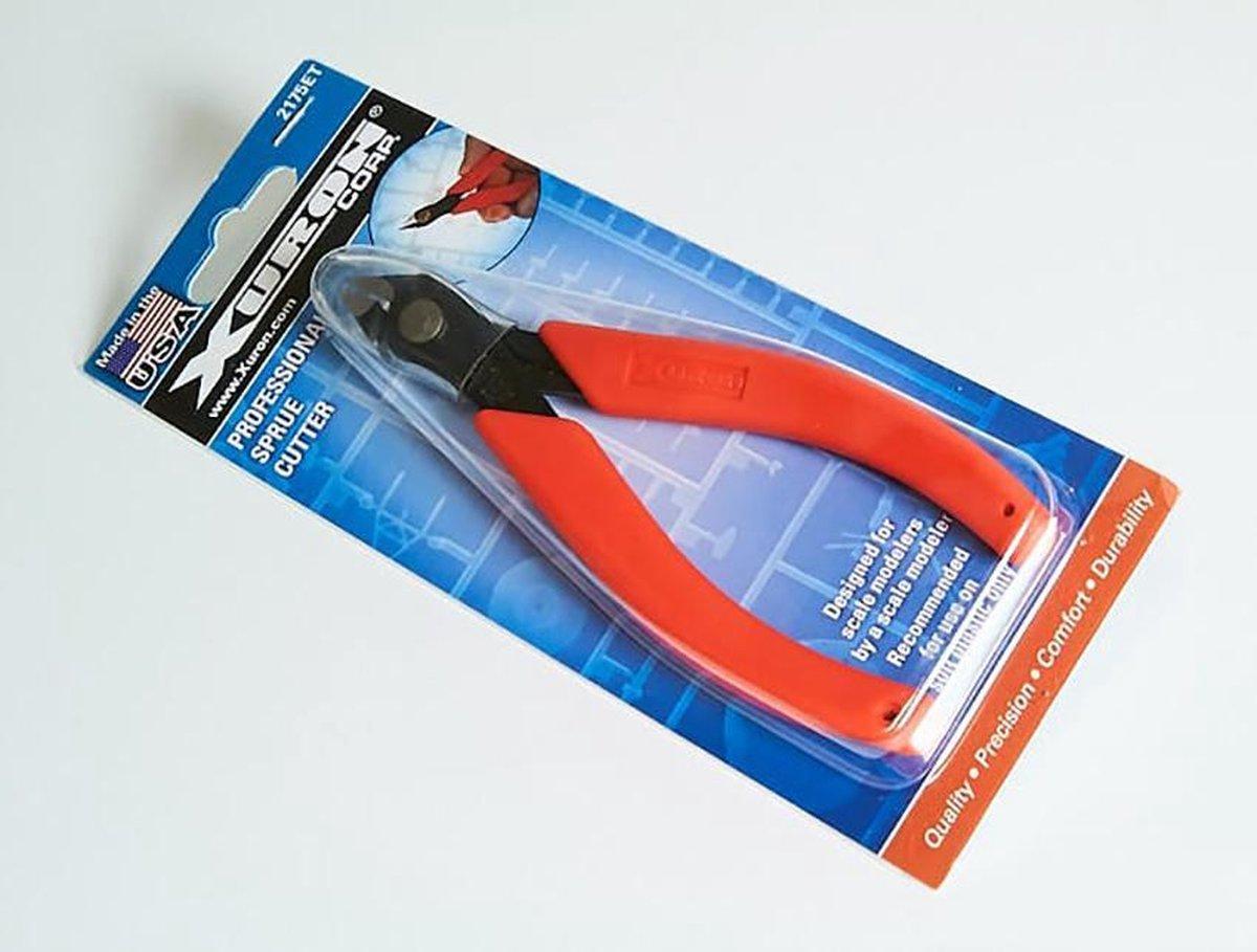 Xuron 2175ET - Professional Sprue Cutter (Gereedschap - Tang voor losknippen plastic onderdelen)