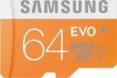 Samsung Evo 64GB Micro SDXC class 10 - met adapter