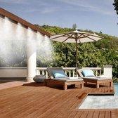 Vernevelaar tuin - vernevelaar slang - 10 meter - verkoeling - tuinsproeier - waterval - mist spray -  Nevelsproeier - sproeiers voor tuin