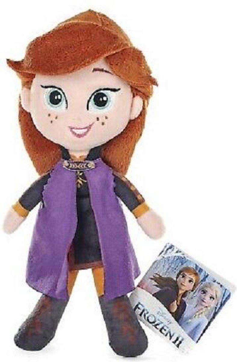Frozen Anna knuffel 20 cm groot - Zacht pluche knuffel van Disney