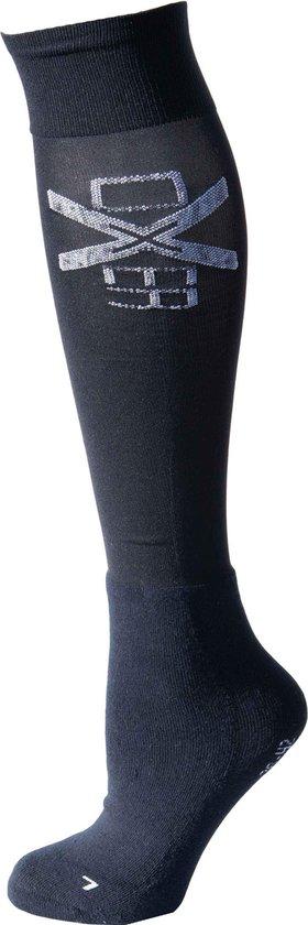 RelaxPets - Oxer Socks - Marineblauw - Maat 40-46 - 2 Paar - Unisex - Chusion Foot