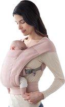 Ergobaby Baby Draagzak Embrace Blush Pink - ergonomische draagzak vanaf geboorte