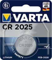 Varta Knoopcel Batterij - Cr 2025 - Lithium Professioneel - 3 Volt