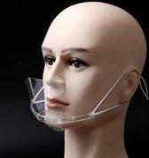 Mondmasker voor contactberoepen 10 stuks (herbruikbaar)