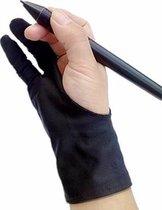 Teken Handschoen - Drawing Glove - Tablet Handschoen - Flexibele Tekenhandschoen - Teken handschoen - Drawing Glove - Artist Glove - Tablet Handschoen - Tablet Glove - Digital art - Wacom Tekentablet - Wacom