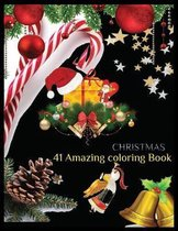CHRISTMAS 41 Amazing Coloring Book