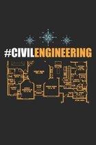 #CivilEngineering: Schaltplan des Bauingenieurs Notizbuch liniert DIN A5 - 120 Seiten f�r Notizen, Zeichnungen, Formeln - Organizer Schre