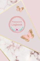 Password Logbook: Password Log Book Organizer for all your Passwords Butterfly Cover
