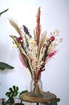 Droogbloemen | Pastel XL 75 cm | Dried Flowers | Gedroogde bloemen