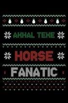Akhal Teke Horse Fanatic: Christmas Season Notebook
