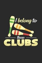 I belong to these clubs: 6x9 Juggling - dotgrid - dot grid paper - notebook - notes