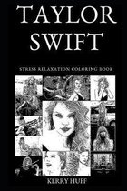 Taylor Swift Stress Relaxation Coloring Book