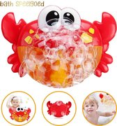 Bad Speelgoed - Muzikale Krab Met Muziekjes En Zeepbellen - Leuk Cadeau Voor De Kleinsten - Baby Speelgoed Voor In Bad