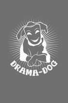 Drama dog: 6x9 Theatre - grid - squared paper - notebook - notes