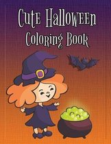 Cute Halloween Coloring Book: Coloring and Drawing Book for Toddlers, Kids 2-6
