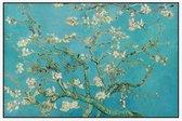 Amandelbloesem, Vincent van Gogh - Foto op Akoestisch paneel - 120 x 80 cm