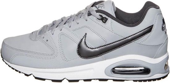 Nike Air Max Command Leather Heren Sneakers - Grijs/zwart - Maat 44,5