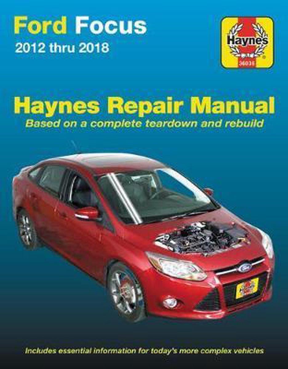 Bol Com Ford Focus Haynes Repair Manual Editors Of Haynes Manuals 9781620923481 Boeken