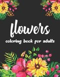 Flowers Coloring Book For Adults