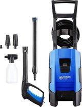 Nilfisk 128471160 hogedrukreiniger Staand Electrisch 520 L/u Blauw, Zwart