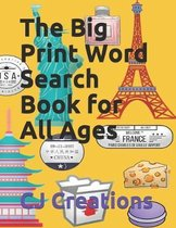 The Big Print Word Search Book for All Ages