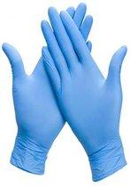 Handschoen Latex - blauw medium - 100stuks