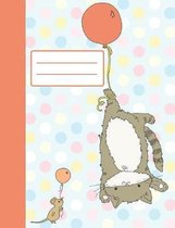 Let's Fly!: Cute Composition Notebook, Collage Ruled, Perfect For Kids, Great For School Notes