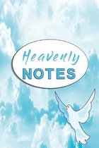 Heavenly notes: Godly notebook with dove