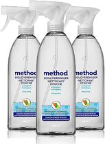 Method Douchereiniger spray powergreen ecologisch 3 x 828 ml