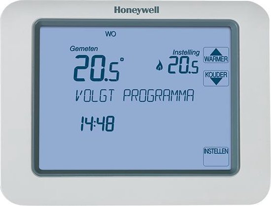 Honeywell Chronotherm Touch Aan/Uit Klokthermostaat