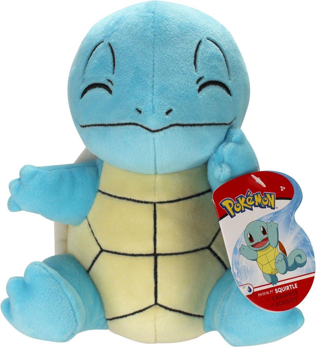 Pokemon Pluche Squirtle Knuffel 21 cm