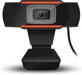 Webcam 1080p - USB Webcam met Microfoon - Webcam voor PC of Laptop - Draaibaar - Zwart - Geen software nodig