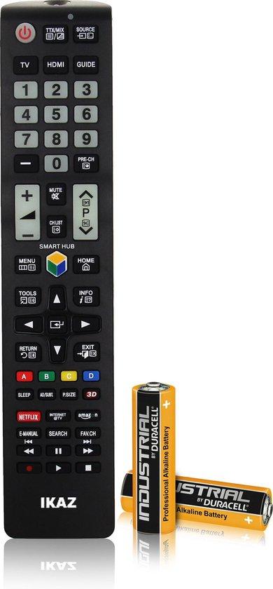 PRO IKAZ® Universele afstandsbediening Samsung TV|Inclusief Batterijen|Smart TV|Remote control