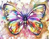 Diamond Painting Volwassenen -  Vlinder - Dieren - Diamond Painting Kinderen - Volledig Pakket – 30x40 cm