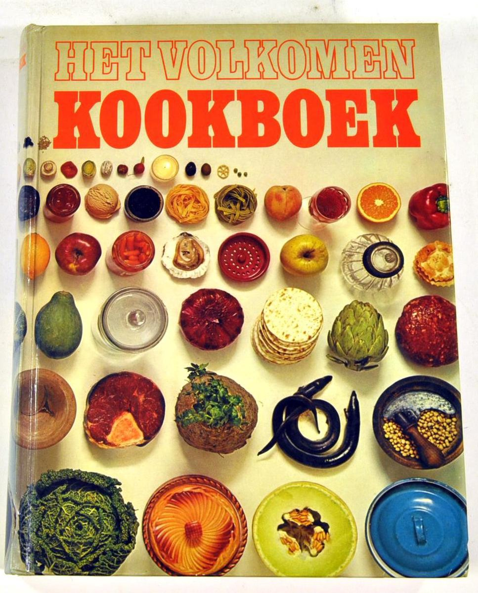 Het volkomen kookboek - Albert Heijn Supermarkt - 1976
